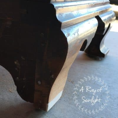How to Repair Legs on a Vintage Nightstand