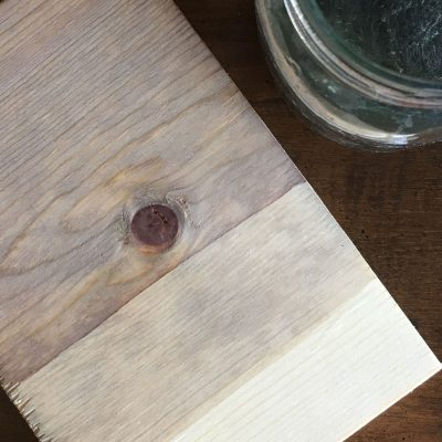 The Best Stain for Weathered Wood Look