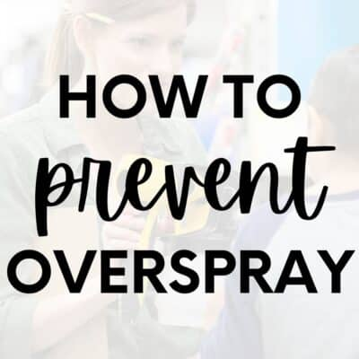 How to Prevent Overspray When Painting Furniture