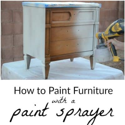 How to Paint with a Paint Sprayer – Part Three of the Paint Sprayer Series