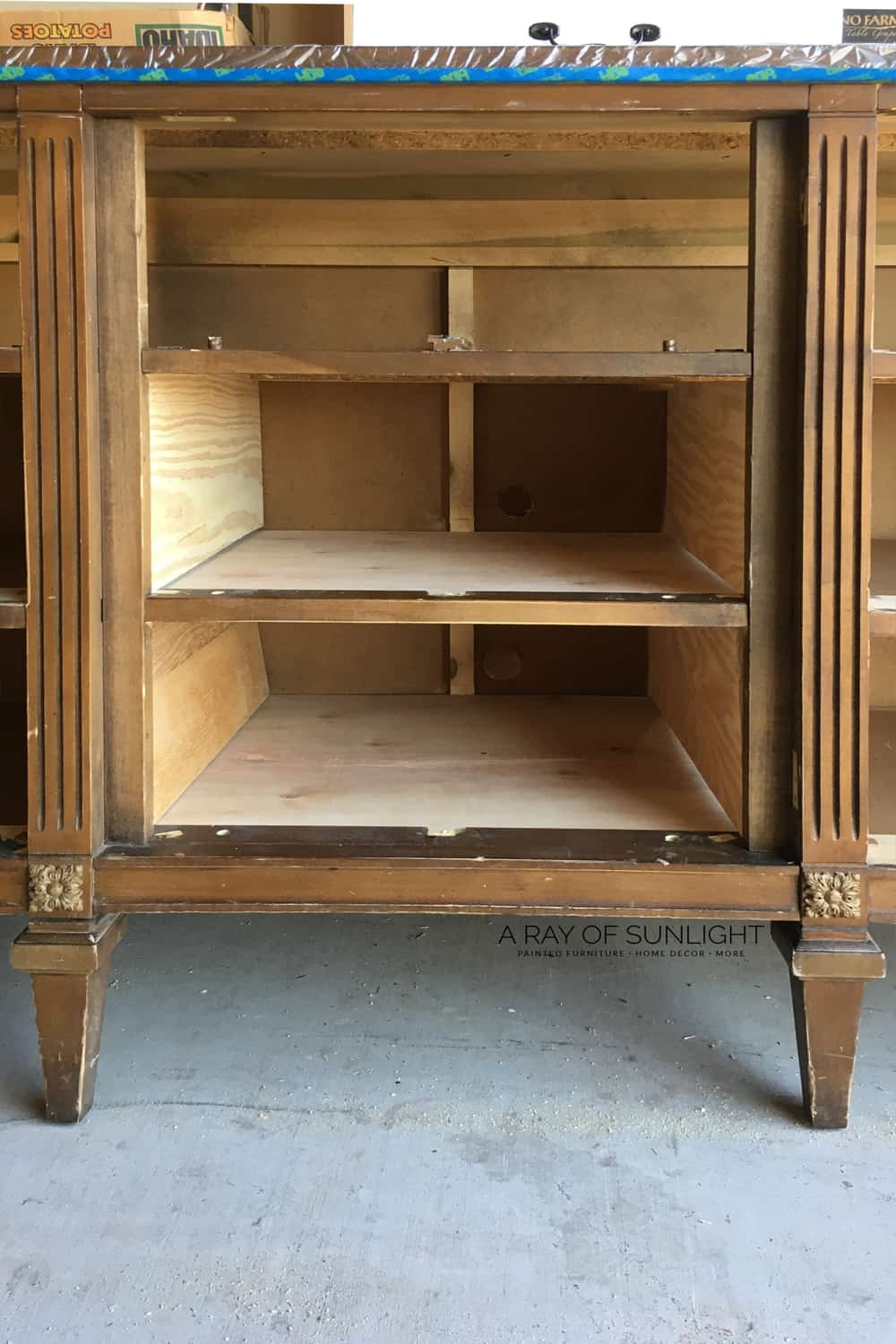 Turning A Dresser Into Tv Stand