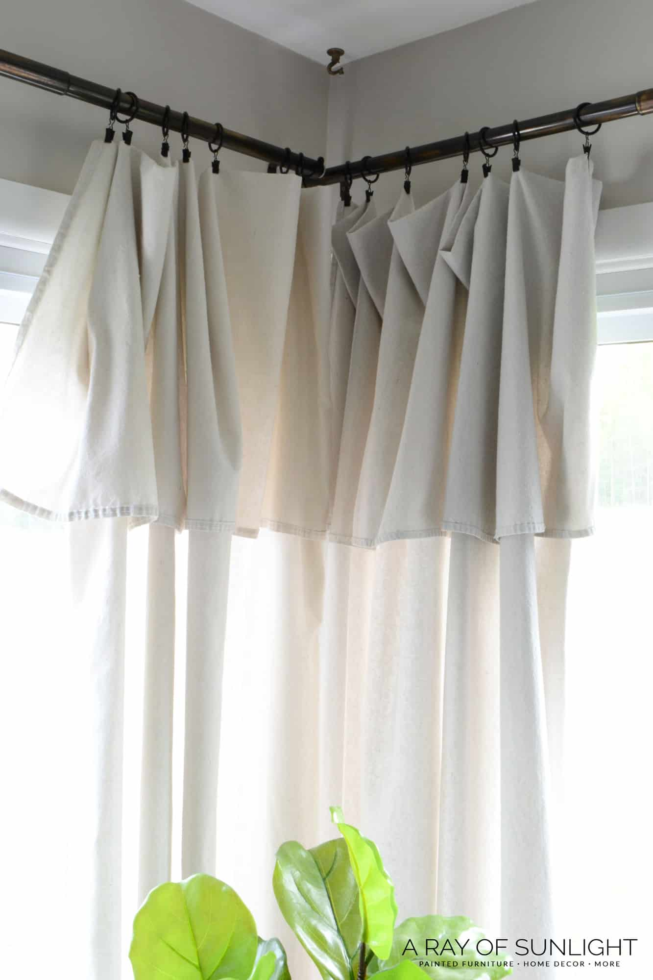 Farmhouse Style Cheap Curtains