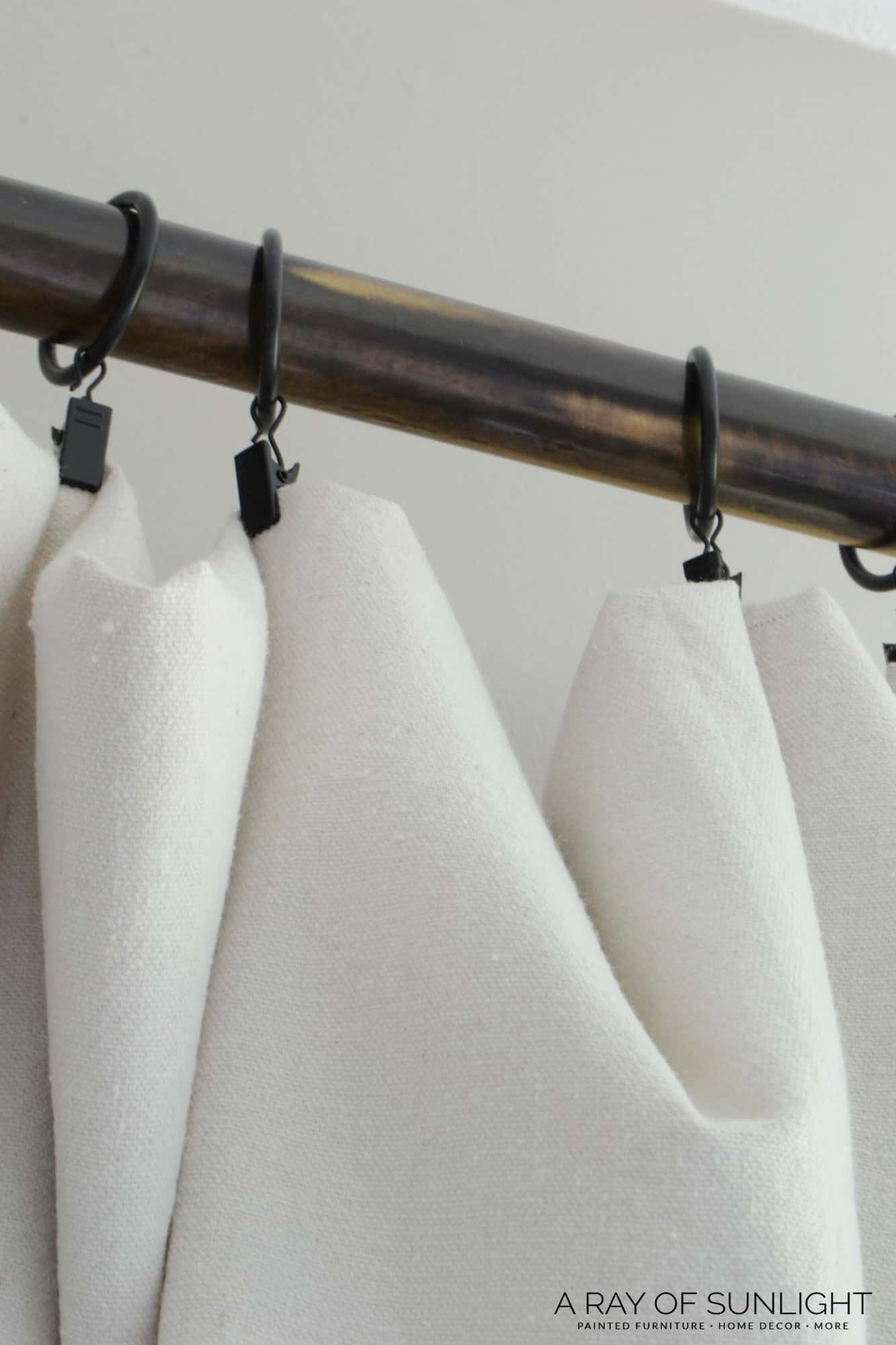 Ring Clips Hang Drop Cloth Curtains Easily