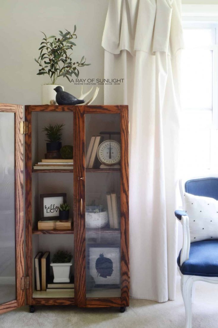 The Farmhouse Cabinet Makeover
