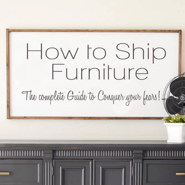 How to Ship Furniture Video Tutorial and Bonus Guide! We cover everything! Down to the companies we use, how to list your items, and what to do if something goes wrong.