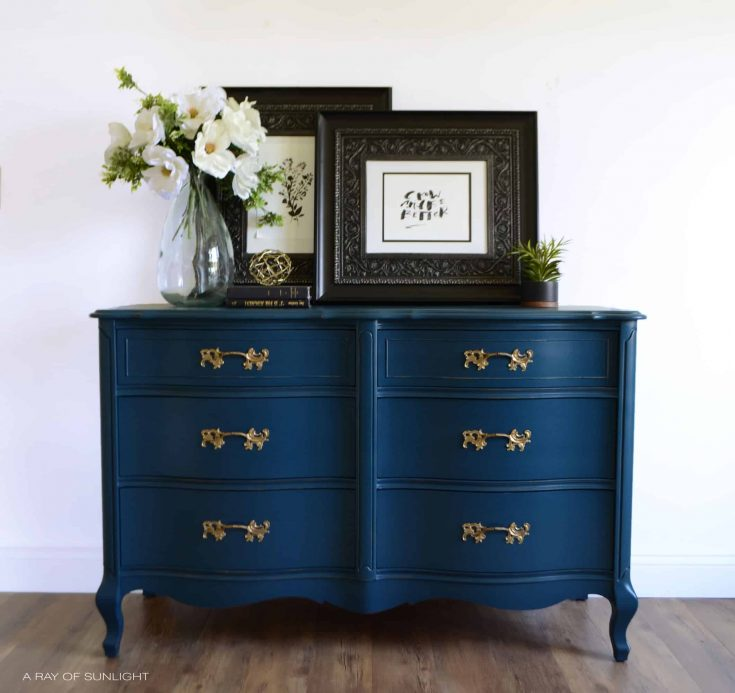 Navy Dresser Video Makeover