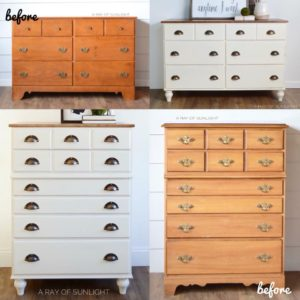 Dresser Transformation with new legs by A Ray of Sunlight