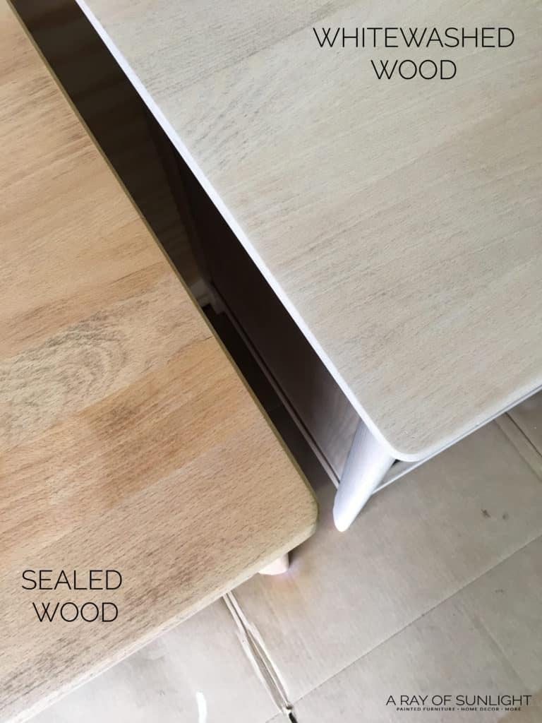 How to Whitewash Wood to Create a Natural Raw Wood Finish
