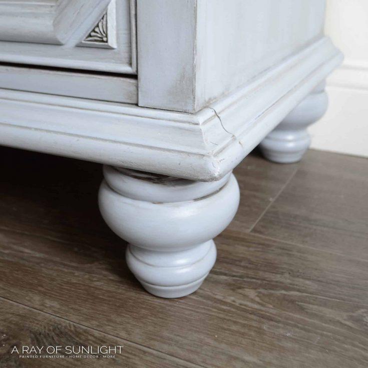 Adding Legs to a Dresser