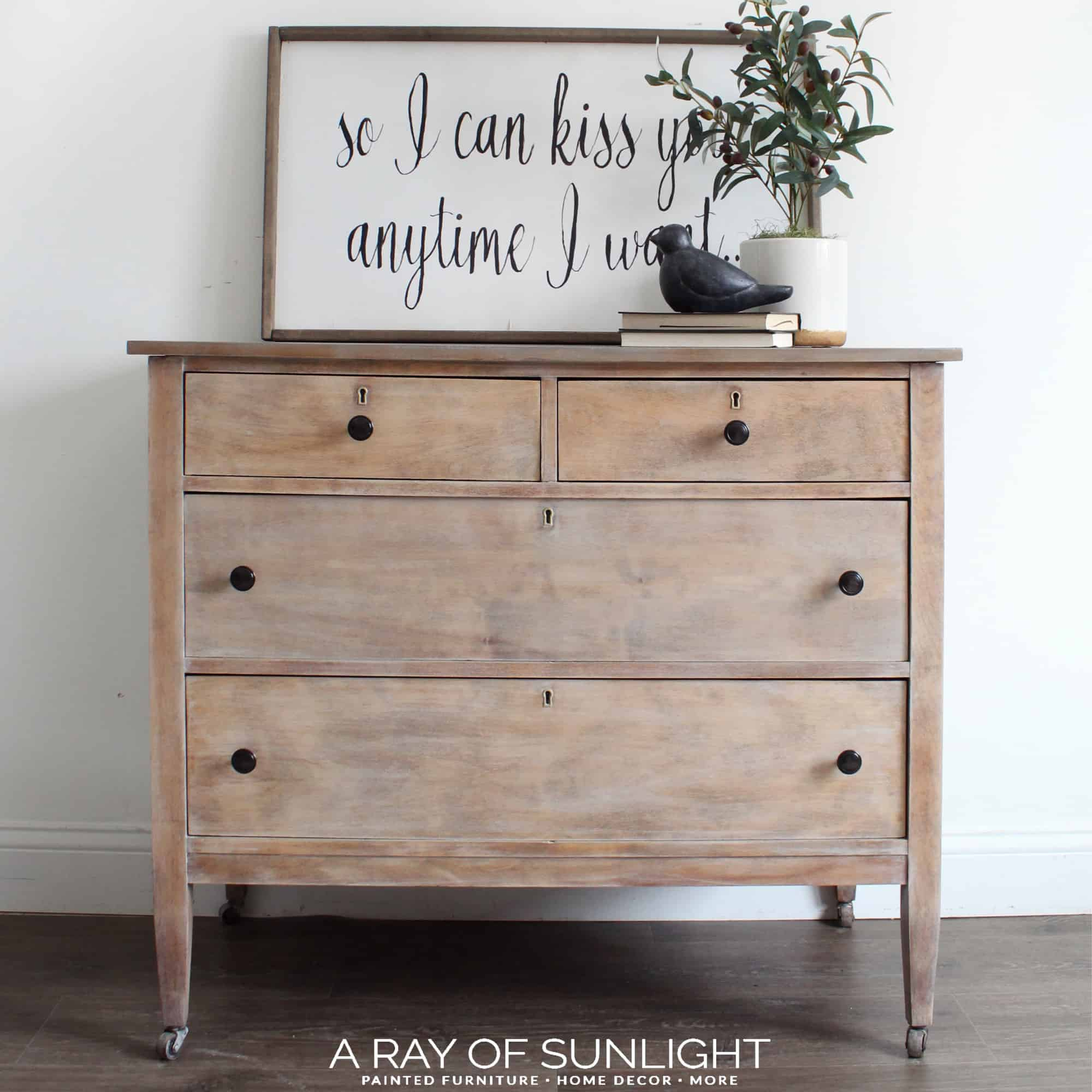 Weathered Wood Dresser
