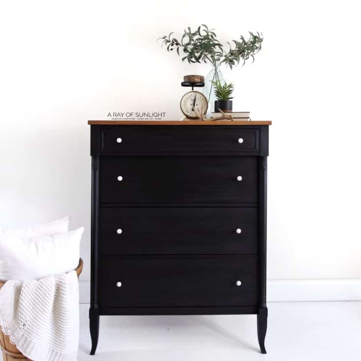 Black Milk Painted Dresser