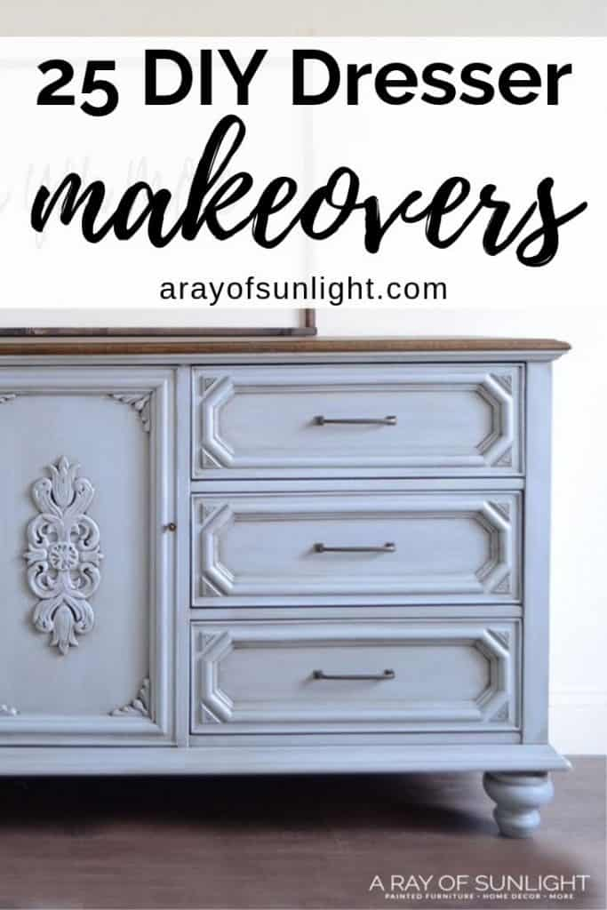 25 DIY Dresser Makeovers