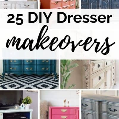 25 of the best DIY 9 Drawer Dressers