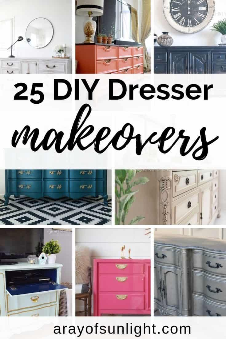 DIY 9 Drawer Dressers