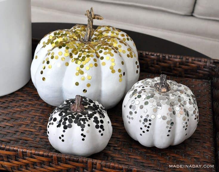 Pretty Painted Pumpkins