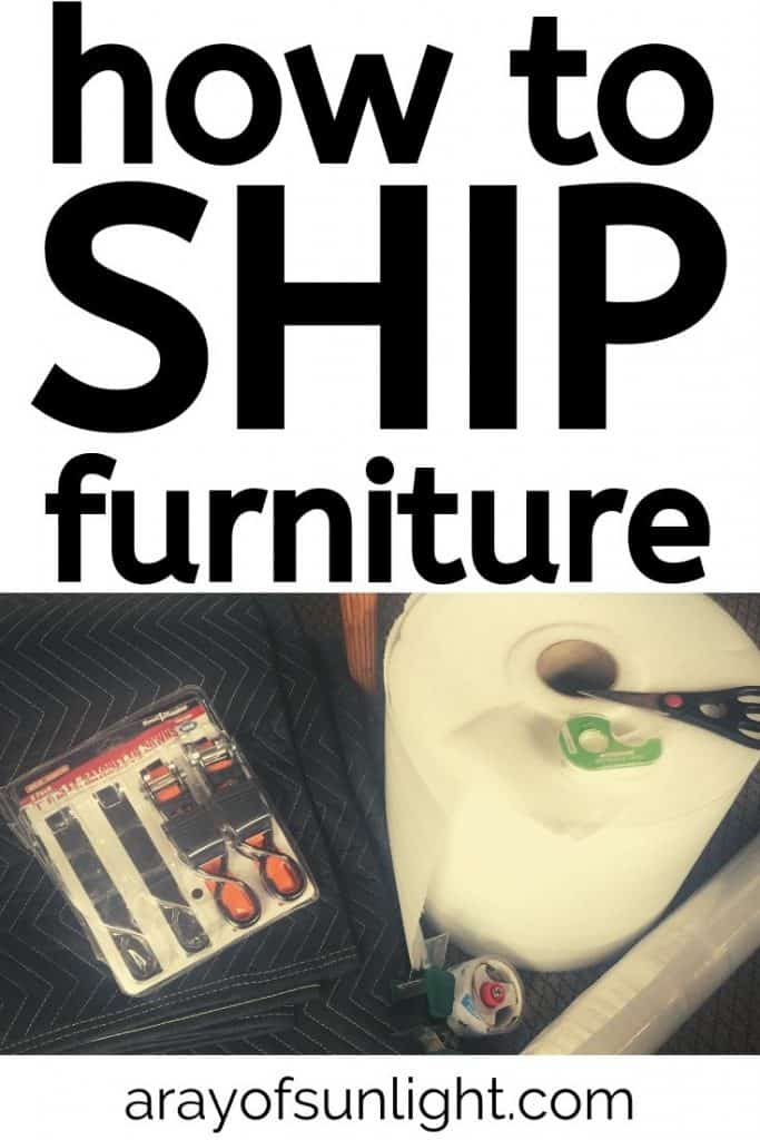 How to Package Furniture for Shipping