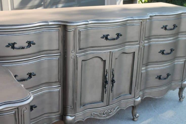 Silver Furniture - My most talked about finish