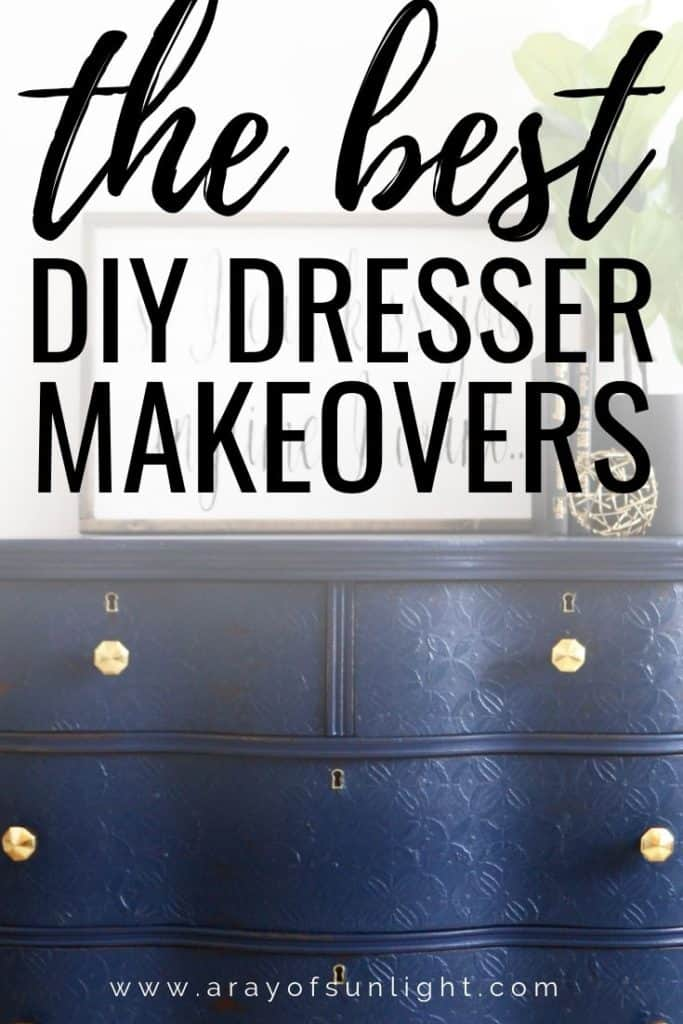 the best diy dresser makeovers