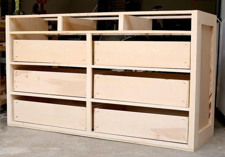 How to Build a DIY Dresser