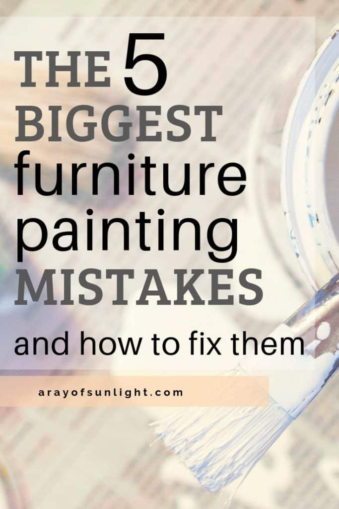 """5 biggest painting mistakes and how to fix them"""