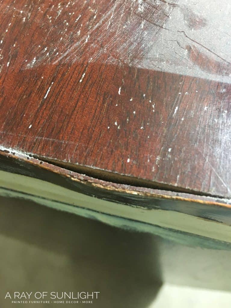 how to fix lifting veneer