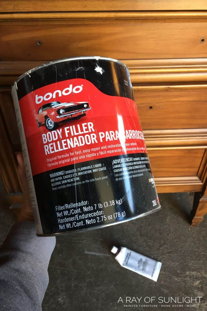 How to change hardware on a dresser - Bondo