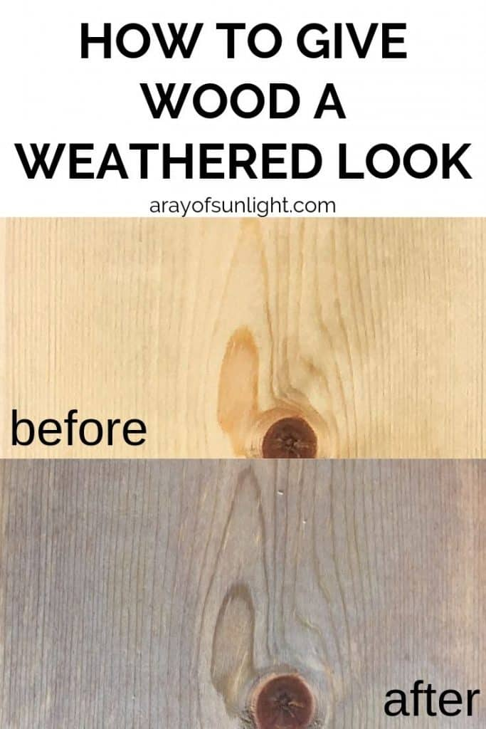 The Best Stain for Weathered Wood
