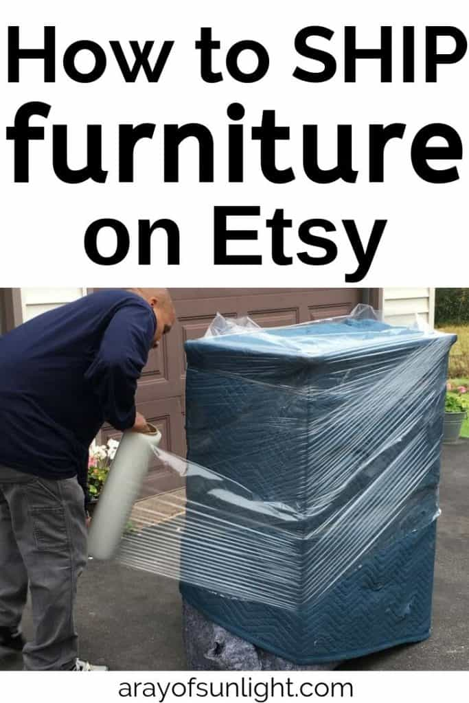 how to ship a dresser on etsy