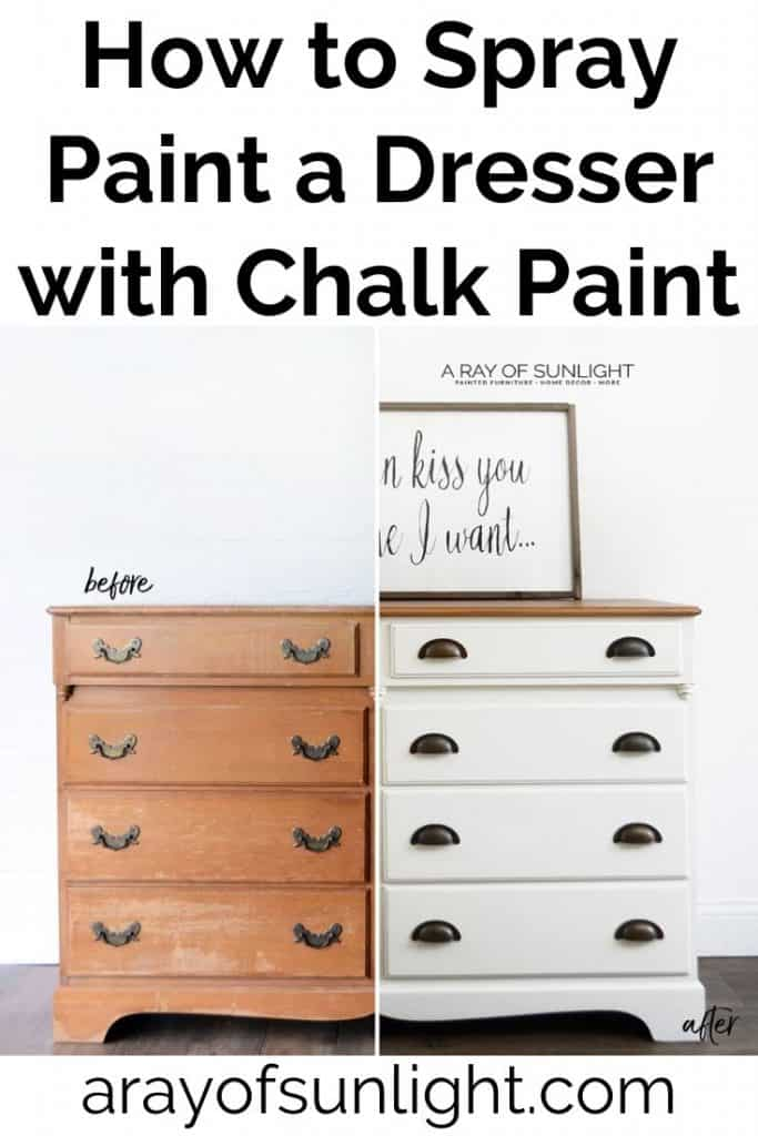 how to thin chalk paint for sprayer