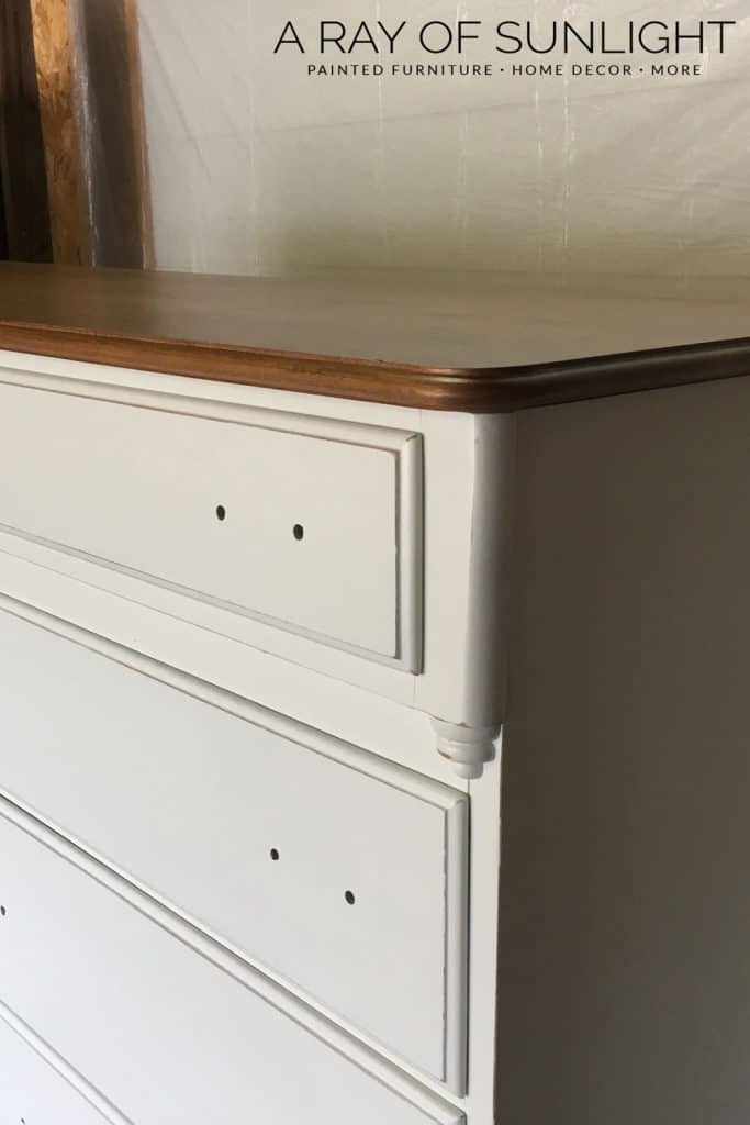 Distressed Cream Dresser