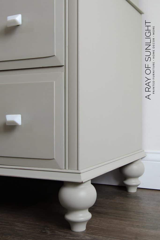 How To Add Feet A Dresser, How To Add Furniture Feet