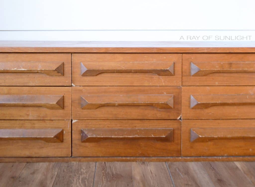 how to fix broken corners on dresser drawers