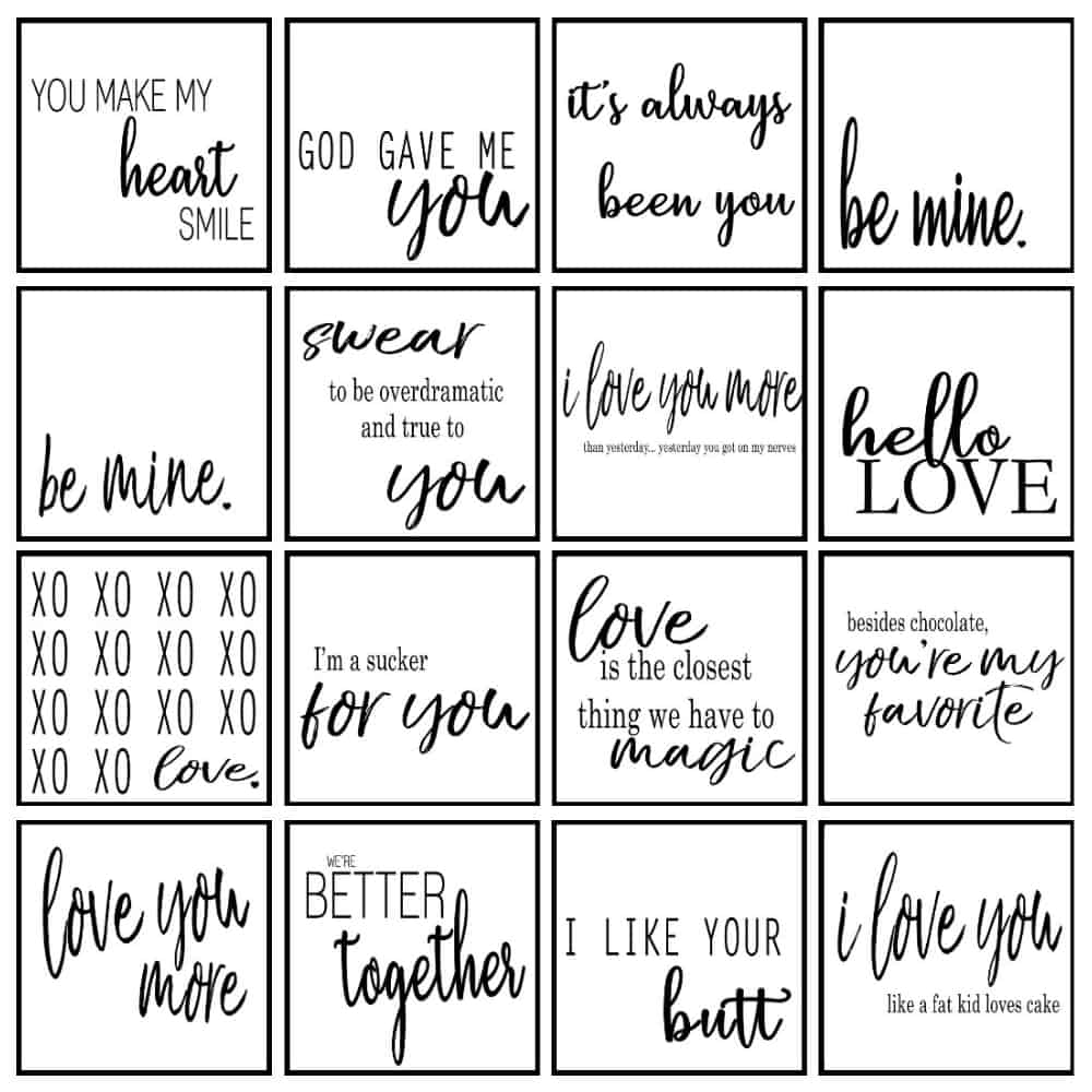 valentines day printables from A Ray of Sunlight