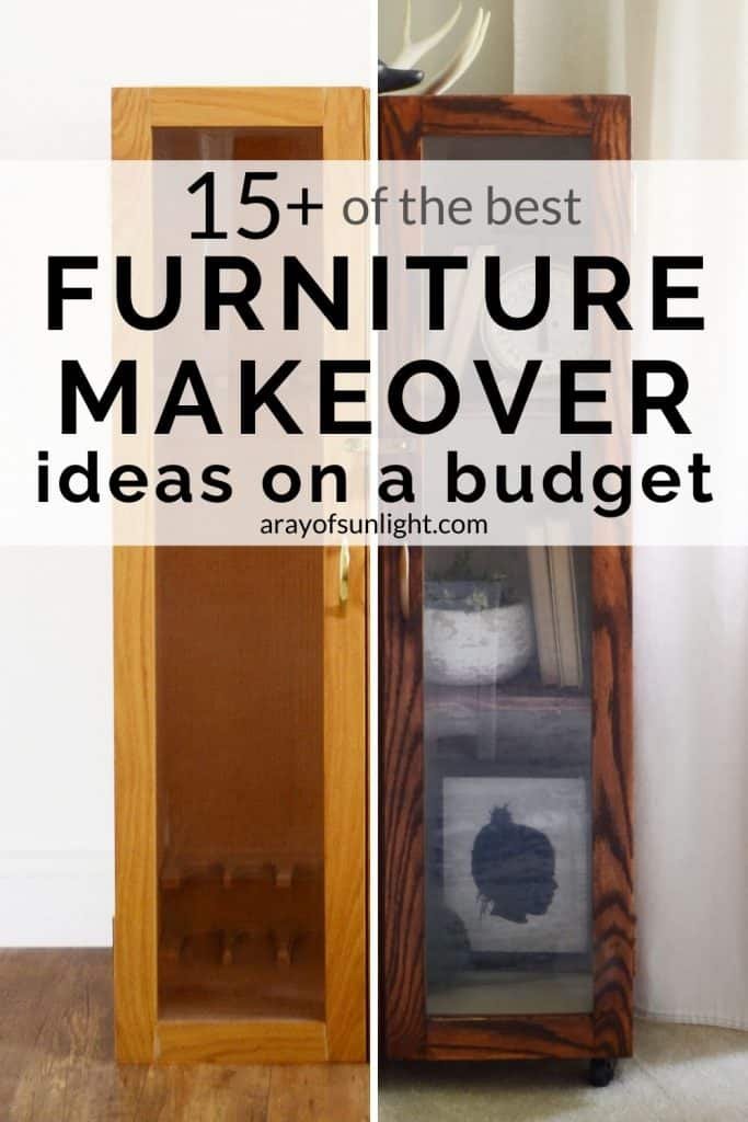 furniture makeover ideas on a budget