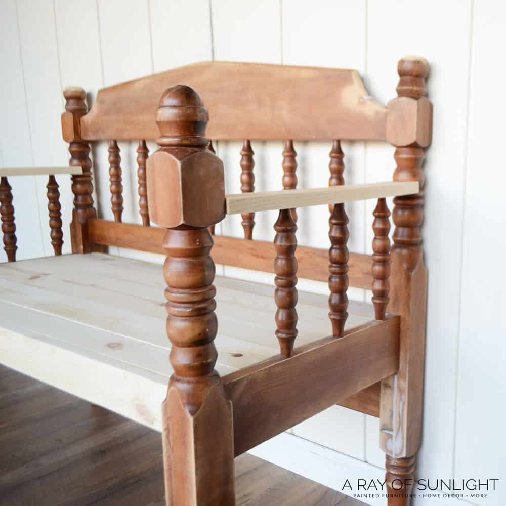how to make headboard benches