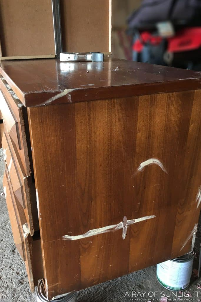 repair scratches in wood