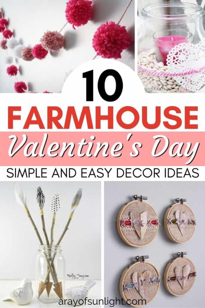 diy farmhouse valentine's day decor ideas
