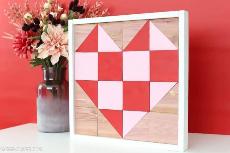 Valentine's Day Barn Quilt