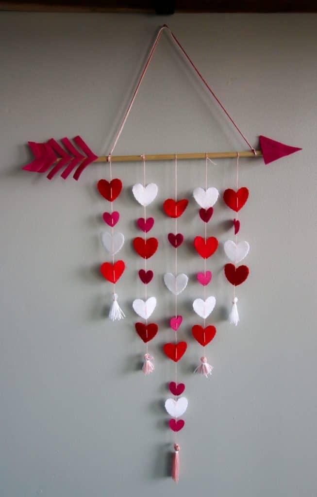 Cupid's Arrow Wall Hanging