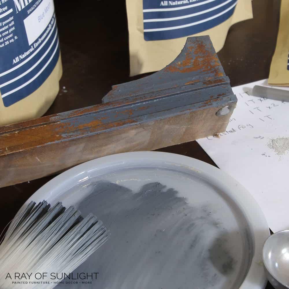 test the new milk paint color