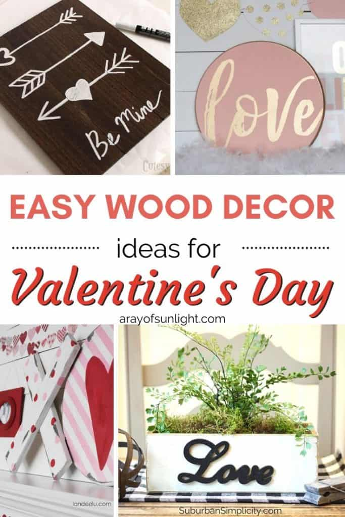 easy wood crafts for valentine's day