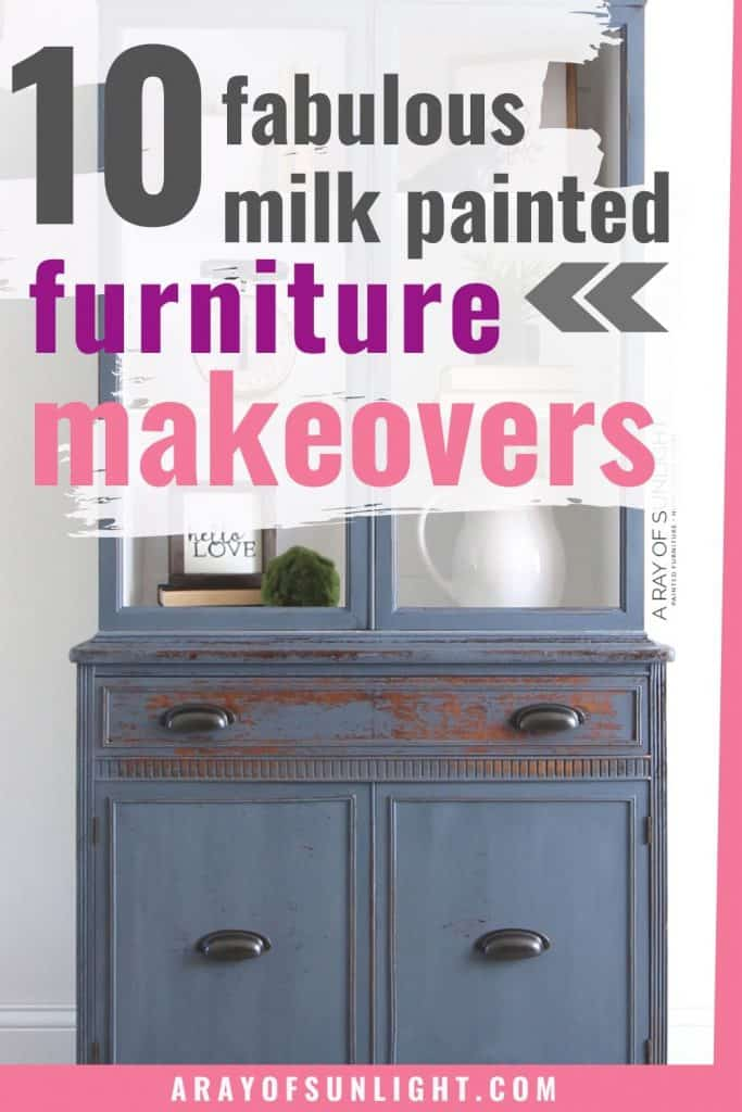 milk paint furniture makeovers