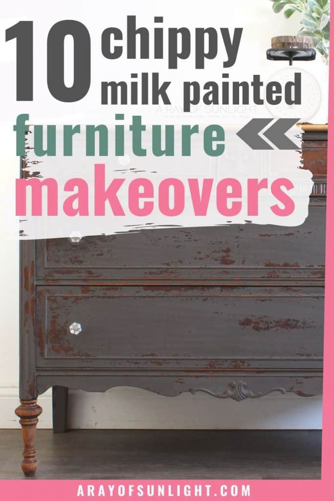 milk painted furniture makeovers