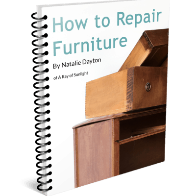 How to Repair Damaged Furniture – Ebook