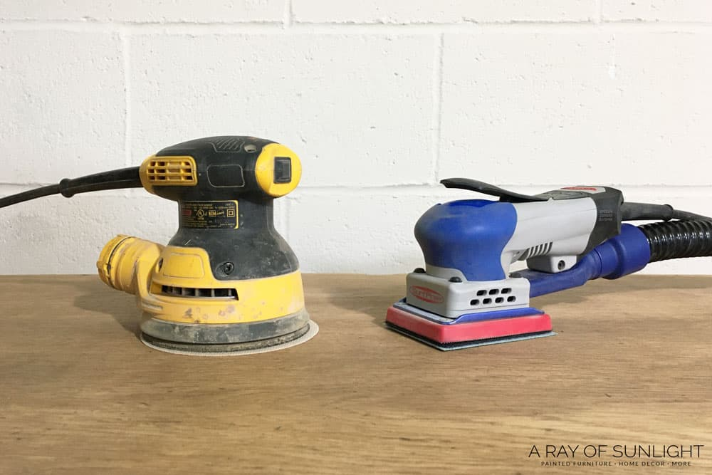 surfprep electric sander vs dewalt orbital sander