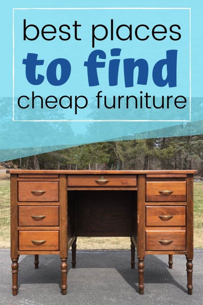 how to get cheap furniture