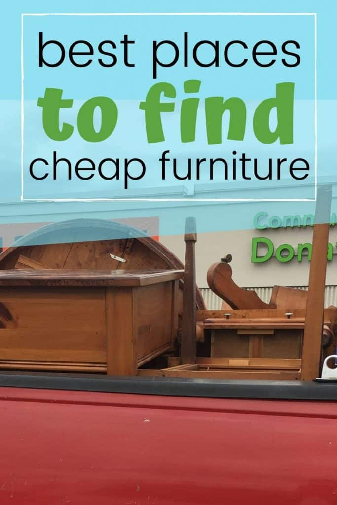 places to get good furniture for cheap
