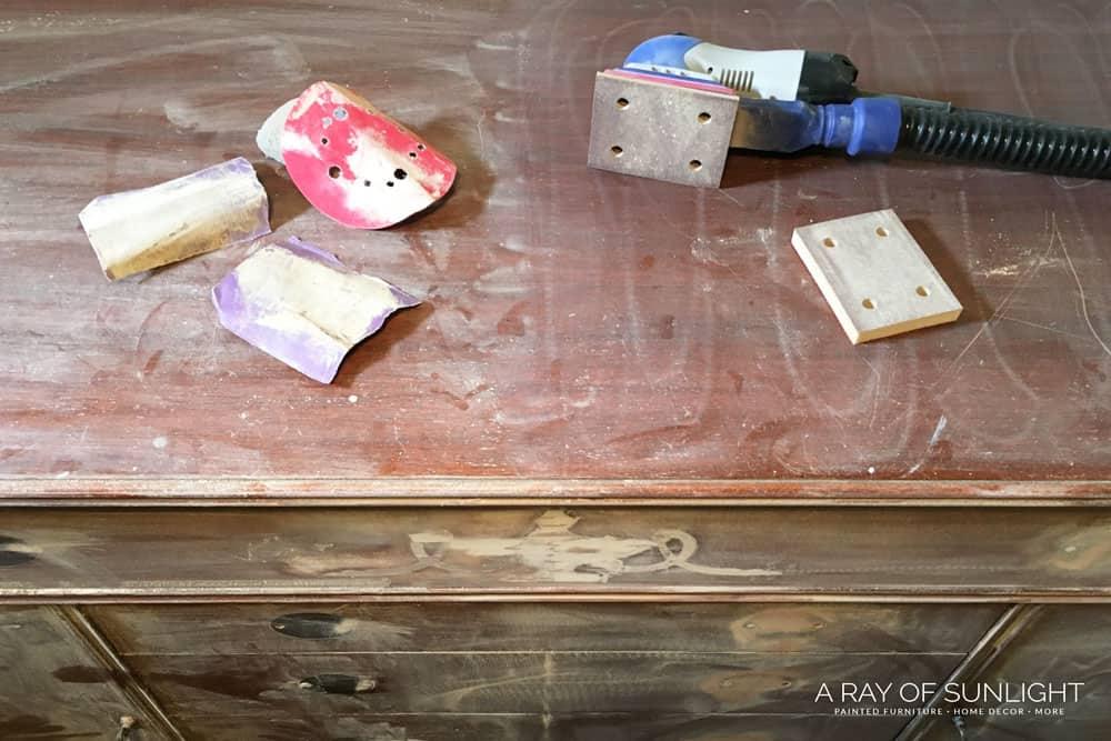 hand sanding cabinet vs SurfPrep Sander Foam Pads