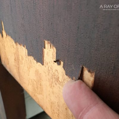 The Best Way to Fix Chipped Wood Furniture