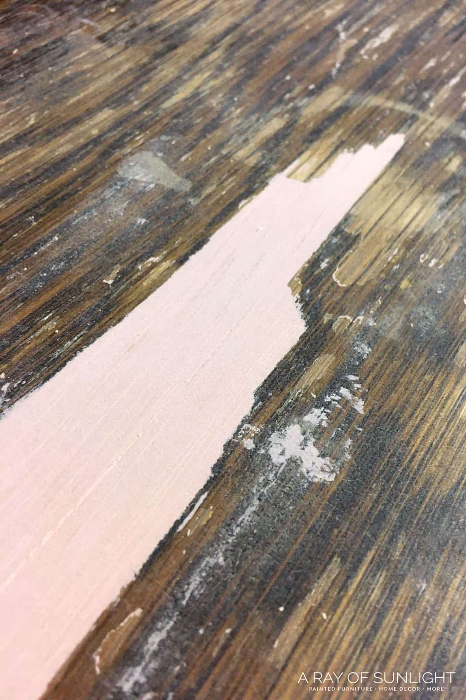 how to repair bubbled veneer 2